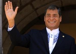 Rafael Correa Presidente Ecuatoriano